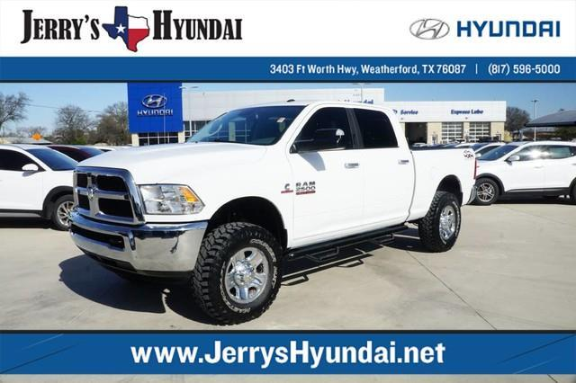 2016 ram ram pickup 2500 slt 4x4 slt 4dr crew cab 6 3 ft sb pickup for sale in weatherford. Black Bedroom Furniture Sets. Home Design Ideas
