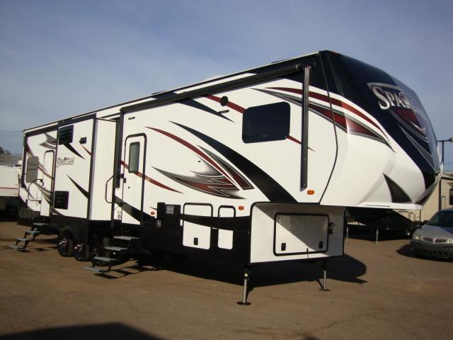 2016 Spartan 1234x Premium 5th Wheel Toy Hauler Sale