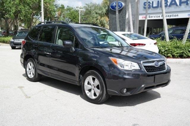 2016 subaru forester limited awd limited 4dr wagon for sale in pompano beach florida. Black Bedroom Furniture Sets. Home Design Ideas