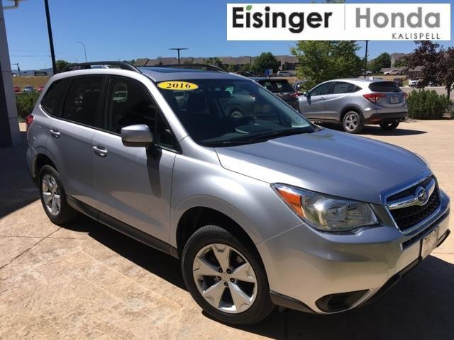 2016 subaru forester premium awd premium 4dr wagon cvt for sale in evergreen montana. Black Bedroom Furniture Sets. Home Design Ideas