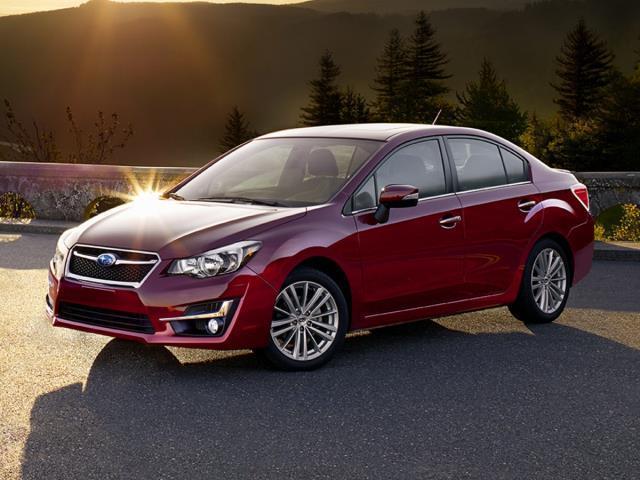 2016 Subaru Impreza 2.0i AWD 2.0i 4dr Sedan CVT