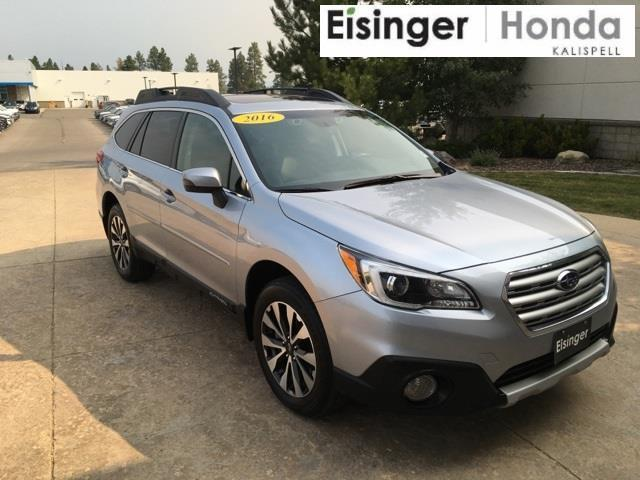2016 subaru outback 3 6r limited awd 3 6r limited 4dr wagon for sale in evergreen montana. Black Bedroom Furniture Sets. Home Design Ideas