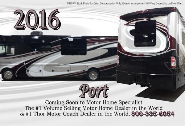 2016 Thor Motor Coach Challenger 37tb Bath Amp 1 2 Bunkbeds