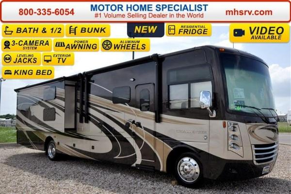 2016 thor motor coach challenger 37tb bath 1 2 w bunk for Motor coaches with 2 bedrooms