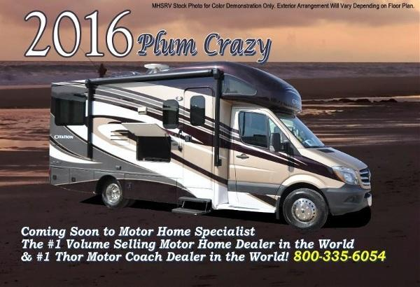 2016 Thor Motor Coach Chateau Citation Sprinter 24SL Diesel RV for