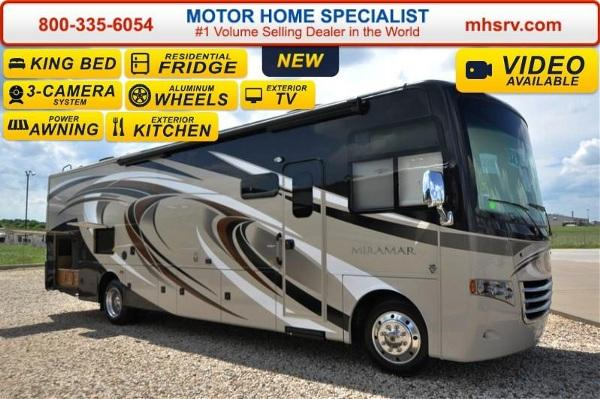 2016 Thor Motor Coach Miramar 34 2 W Ext Kitchen King Bed For Sale In Alvarado Texas