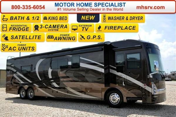 2016 thor motor coach tuscany 45at bath 1 2 aqua hot 60 for Motor home specialist inc alvarado texas