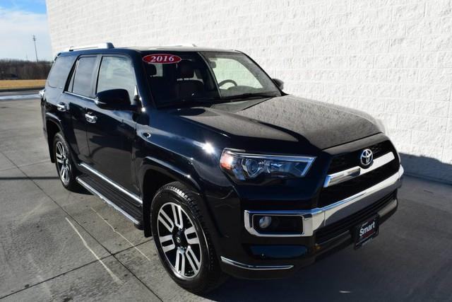 2016 toyota 4runner limited awd limited 4dr suv for sale in davenport iowa classified. Black Bedroom Furniture Sets. Home Design Ideas
