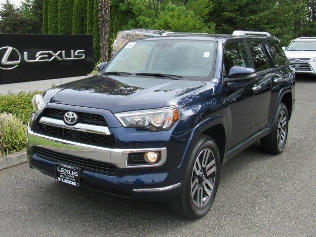 2016 toyota 4runner limited awd limited 4dr suv for sale in tacoma washington classified. Black Bedroom Furniture Sets. Home Design Ideas