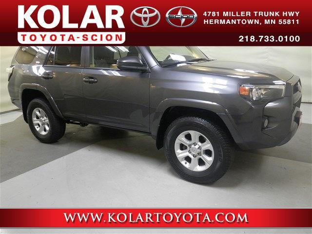 2016 toyota 4runner sr5 4x4 sr5 4dr suv for sale in duluth minnesota classified. Black Bedroom Furniture Sets. Home Design Ideas