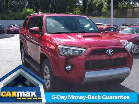 2016 toyota 4runner trail 4x4 trail 4dr suv for sale in greenville south carolina classified. Black Bedroom Furniture Sets. Home Design Ideas