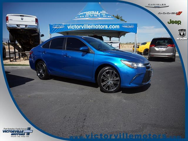 2016 toyota camry le le 4dr sedan for sale in victorville california classified. Black Bedroom Furniture Sets. Home Design Ideas