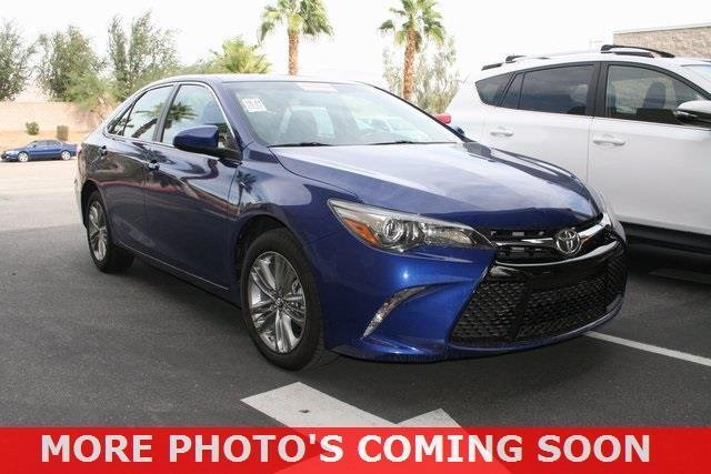 2016 toyota camry se se 4dr sedan for sale in indio california classified. Black Bedroom Furniture Sets. Home Design Ideas