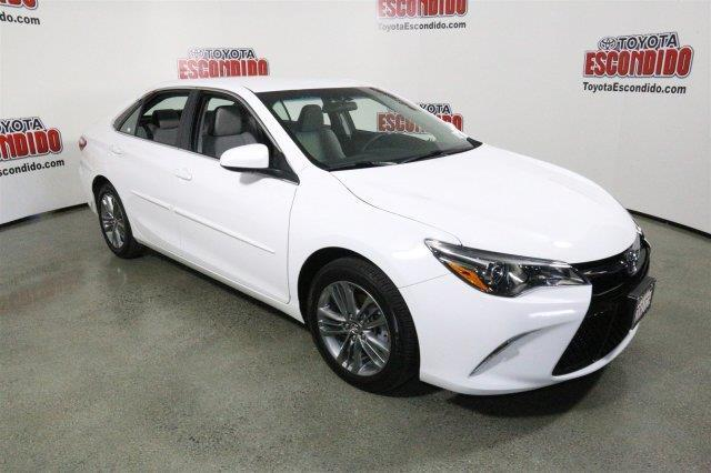 2016 toyota camry se se 4dr sedan for sale in escondido california classified. Black Bedroom Furniture Sets. Home Design Ideas