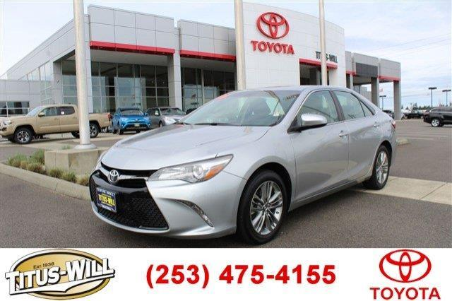 2016 toyota camry se se 4dr sedan for sale in tacoma washington classified. Black Bedroom Furniture Sets. Home Design Ideas