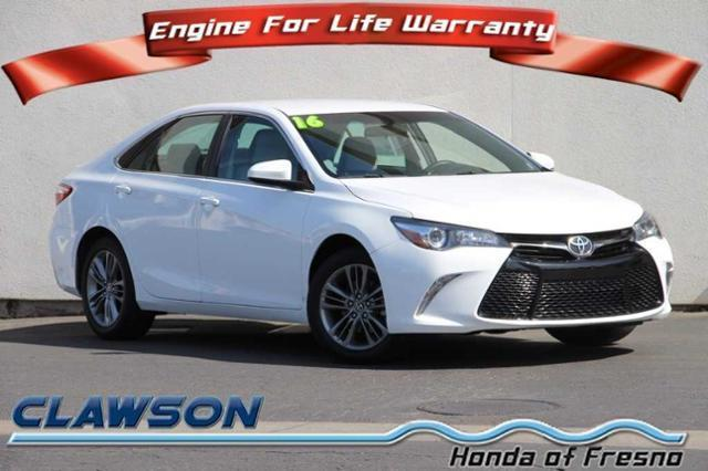 2016 toyota camry se se 4dr sedan for sale in fresno california classified. Black Bedroom Furniture Sets. Home Design Ideas