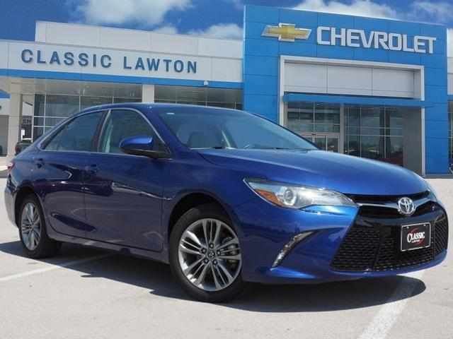 2016 toyota camry se se 4dr sedan for sale in lawton oklahoma classified. Black Bedroom Furniture Sets. Home Design Ideas
