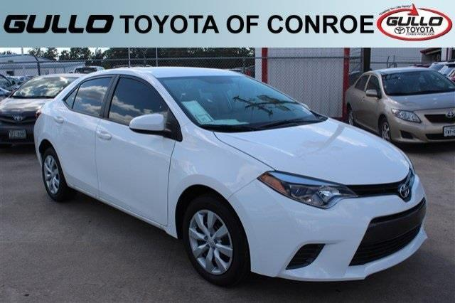 2016 toyota corolla l l 4dr sedan 4a for sale in conroe texas classified. Black Bedroom Furniture Sets. Home Design Ideas