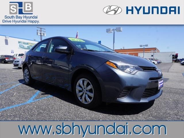 2016 toyota corolla le le 4dr sedan for sale in torrance california classified. Black Bedroom Furniture Sets. Home Design Ideas