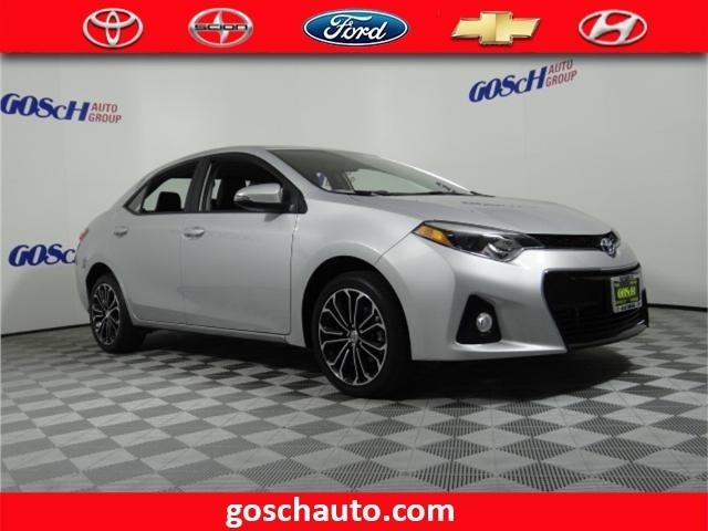 2016 toyota corolla s plus s plus 4dr sedan cvt for sale. Black Bedroom Furniture Sets. Home Design Ideas