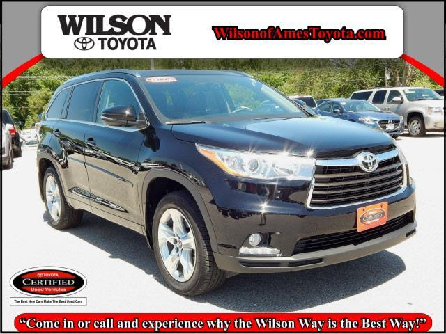 2016 toyota highlander limited awd limited 4dr suv for sale in ames iowa classified. Black Bedroom Furniture Sets. Home Design Ideas