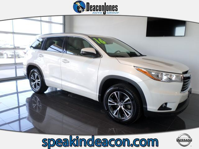 2016 toyota highlander xle xle 4dr suv for sale in goldsboro north carolina classified. Black Bedroom Furniture Sets. Home Design Ideas