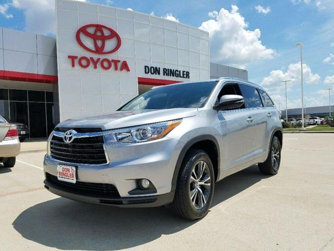 2016 toyota highlander xle xle 4dr suv for sale in temple texas classified. Black Bedroom Furniture Sets. Home Design Ideas