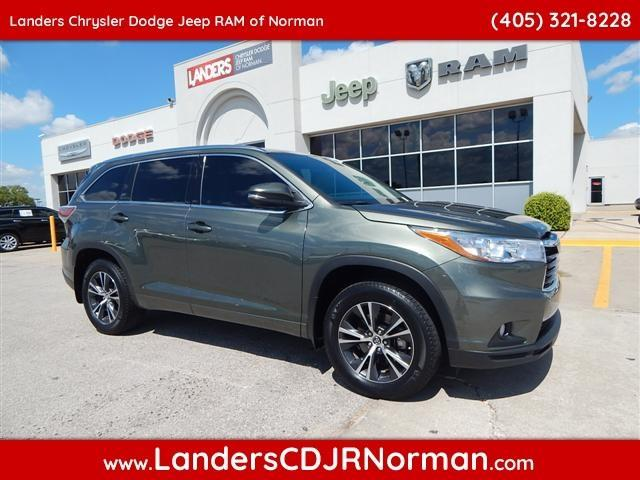 2016 toyota highlander xle xle 4dr suv for sale in norman oklahoma classified. Black Bedroom Furniture Sets. Home Design Ideas