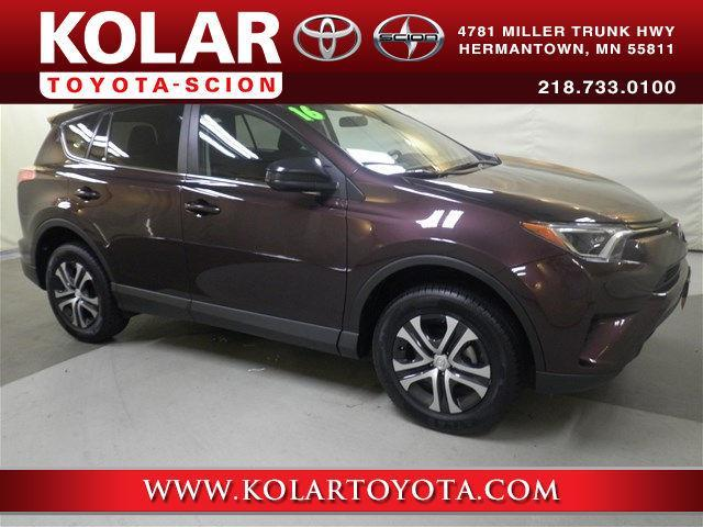 2016 toyota rav4 le awd le 4dr suv for sale in duluth minnesota classified. Black Bedroom Furniture Sets. Home Design Ideas