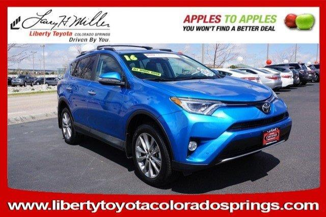 2016 toyota rav4 limited awd limited 4dr suv for sale in colorado springs colorado classified. Black Bedroom Furniture Sets. Home Design Ideas