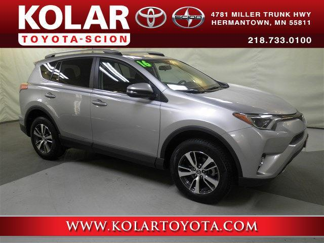 2016 toyota rav4 xle awd xle 4dr suv for sale in duluth minnesota classified. Black Bedroom Furniture Sets. Home Design Ideas