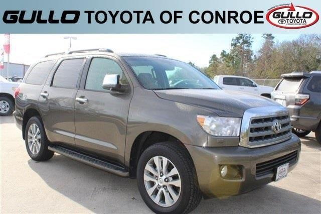 2016 toyota sequoia limited 4x2 limited 4dr suv for sale in conroe texas classified. Black Bedroom Furniture Sets. Home Design Ideas