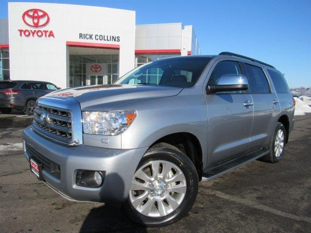 2016 toyota sequoia platinum 4x4 platinum 4dr suv ffv for sale in sioux city iowa classified. Black Bedroom Furniture Sets. Home Design Ideas