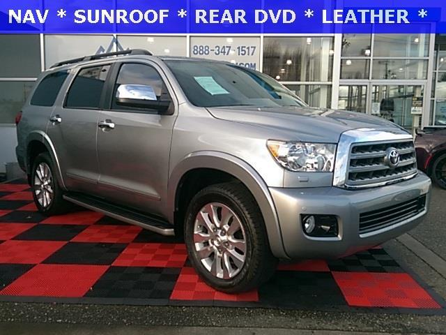 2016 toyota sequoia platinum 4x4 platinum 4dr suv ffv for sale in renton washington classified. Black Bedroom Furniture Sets. Home Design Ideas