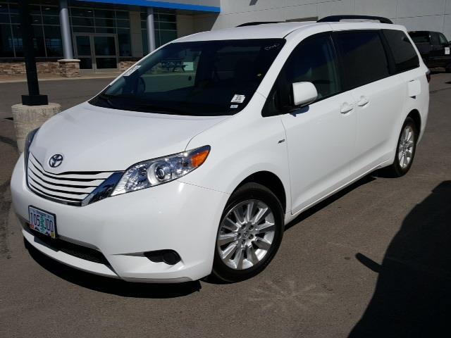 2016 toyota sienna le 7 passenger awd le 7 passenger 4dr mini van for sale in evergreen montana. Black Bedroom Furniture Sets. Home Design Ideas