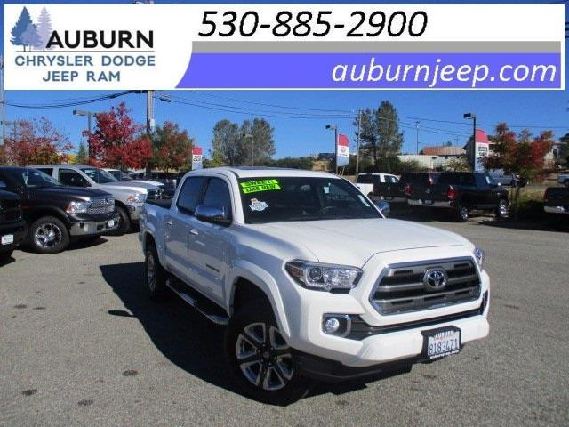 2016 toyota tacoma limited 4x2 limited 4dr double cab 5 0 ft sb for sale in auburn california. Black Bedroom Furniture Sets. Home Design Ideas