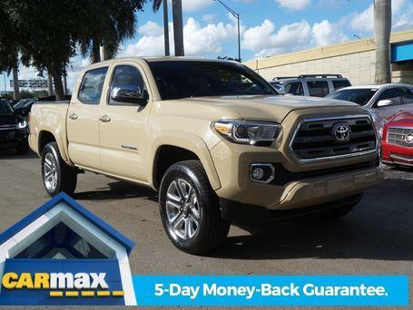 2016 toyota tacoma limited 4x2 limited 4dr double cab 5 0 ft sb for sale in davie florida. Black Bedroom Furniture Sets. Home Design Ideas