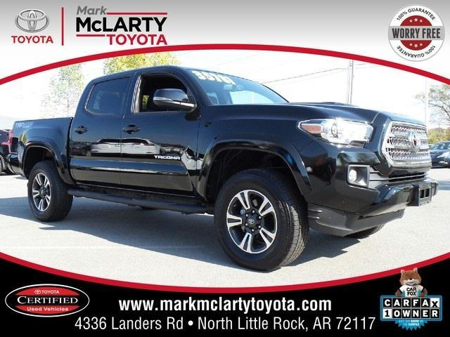2016 toyota tacoma trd sport 4x4 trd sport 4dr double cab 5 0 ft sb 6a for sale in north little. Black Bedroom Furniture Sets. Home Design Ideas