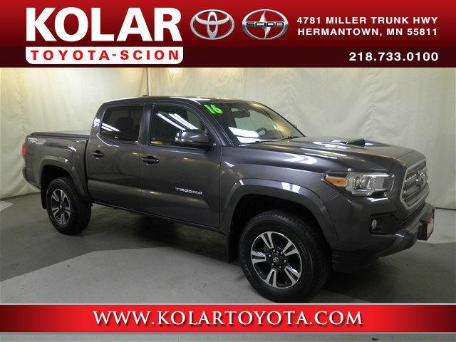 2016 toyota tacoma trd sport 4x4 trd sport 4dr double cab 5 0 ft sb 6a for sale in duluth. Black Bedroom Furniture Sets. Home Design Ideas