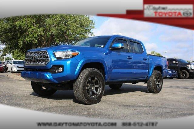 2016 toyota tacoma trd sport 4x4 trd sport 4dr double cab 5 0 ft sb 6a for sale in daytona beach. Black Bedroom Furniture Sets. Home Design Ideas