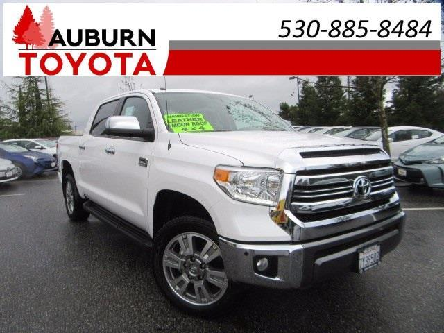 2016 toyota tundra 1794 4x4 1794 4dr crewmax cab pickup sb 5 7l v8 for sale in auburn. Black Bedroom Furniture Sets. Home Design Ideas