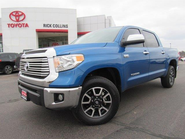 2016 toyota tundra limited 4x4 limited 4dr crewmax cab pickup sb 5 7l v8 ffv for sale in sioux. Black Bedroom Furniture Sets. Home Design Ideas