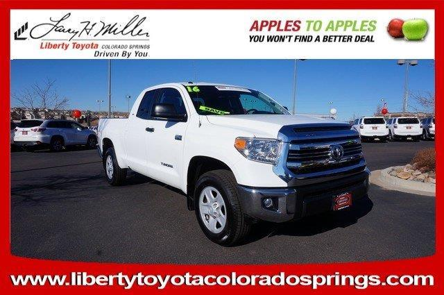 2016 Toyota Tundra TRD Pro 4x4 TRD Pro 4dr Double Cab