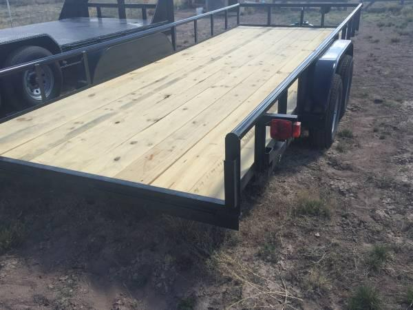 2016 TRAILER, Unused, Utility, Multi Use, Flatbed