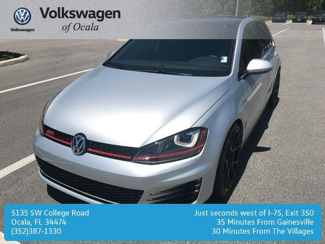 2016 volkswagen golf gti autobahn autobahn 4dr hatchback 6a w performance package for sale in. Black Bedroom Furniture Sets. Home Design Ideas