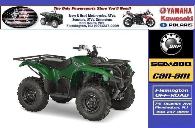 2016 Yamaha Kodiak 700 Green