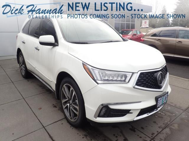 2017 acura mdx sh awd w advance sh awd 4dr suv w advance package for sale in portland oregon. Black Bedroom Furniture Sets. Home Design Ideas