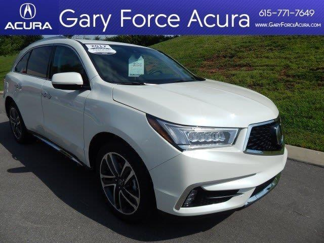 2017 acura mdx sh awd w advance sh awd 4dr suv w advance package for sale in brentwood. Black Bedroom Furniture Sets. Home Design Ideas