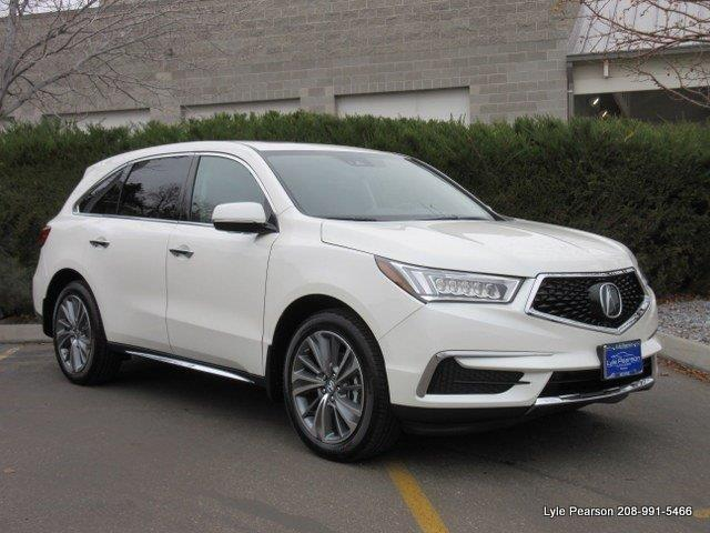 2017 acura mdx sh awd w tech sh awd 4dr suv w technology package for sale in boise idaho. Black Bedroom Furniture Sets. Home Design Ideas