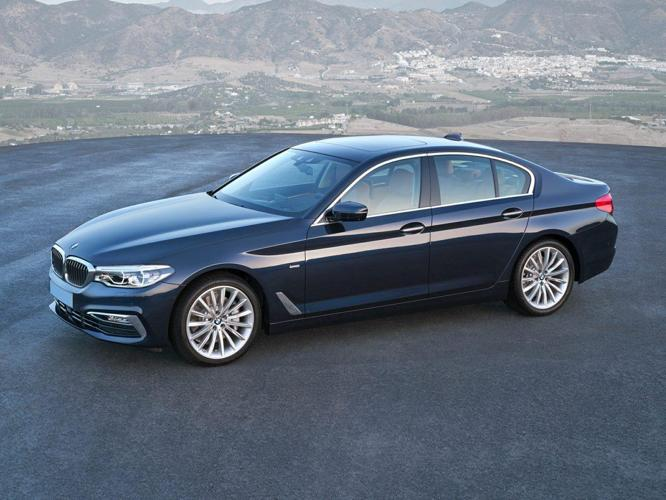 2017 BMW 5 Series 540i 540i 4dr Sedan